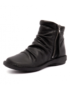 Women's Shoes Faithful Novo Black Leather Loafer Shoes Size 42