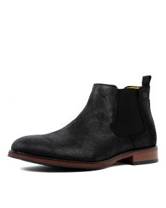 GUILFORD BLACK SUEDE