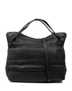RHIANNA LIQUORICE VEGAN LEATHER