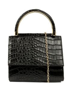 CALYPSO CROC GG BLACK SMOOTH