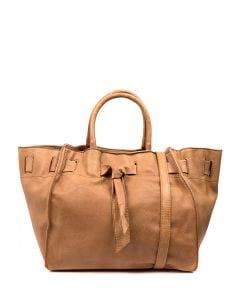 IVY TAN VEGAN LEATHER