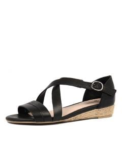 CANDES BLACK LEATHER
