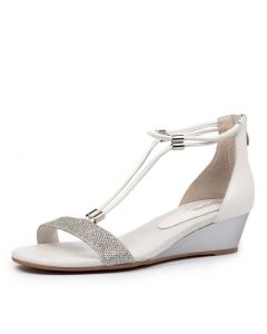 KAROLYN SILVER METALLIC LEATHER