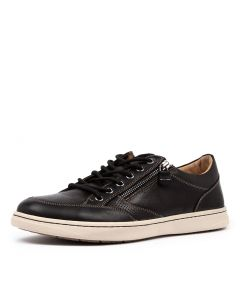 TRENT BLACK OILED LEATHER