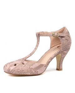 MARIE BLUSH LACE EMBOSSED SMOOTH