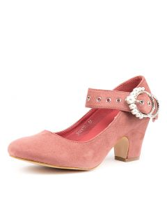 SHANTELL DUSTY PINK MICROSUEDE