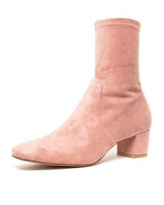 HASELEE BLUSH STRETCH MICROSUEDE
