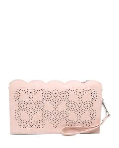 JACEY CLUTCH IL BLUSH SMOOTH
