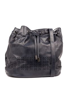 QUORBY BUCKET BAG IL NAVY SMOOTH