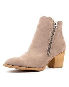 XENA W TAUPE MICROSUEDE