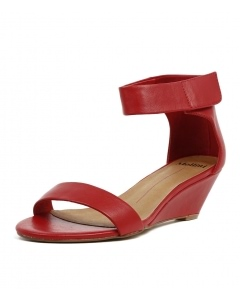 MARSY RED LEATHER