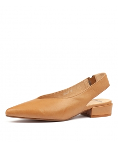 EMMIT DK TAN LEATHER