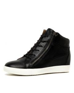 ADRIEL BLACK LEATHER