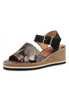 NASTRO MO TAN MULTI BLACK PYTHON LEATHER