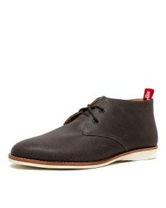 CHUKKA M CHARCOAL LEATHER