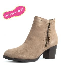 48459 TAXI   DON'T TRIP TAUPE SUEDE