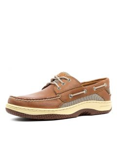 BILLFISH 3 EYE DARK TAN LEATHER
