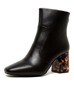 CECILE BOOT BLACK LEATHER
