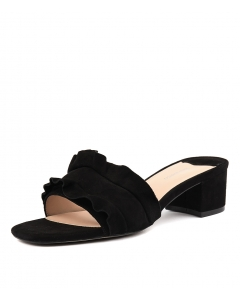 MILLY TB BLACK SUEDE