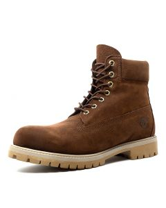 6 PREMIUM ICON BOOTS DARK BROWN NUBUCK
