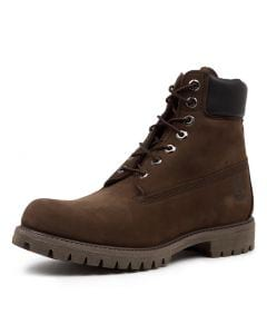 6 PREMIUM ICON BOOTS MEDIUM BROWN NUBUCK