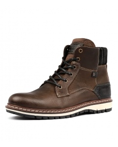 ASPEN DARK BROWN LEATHER