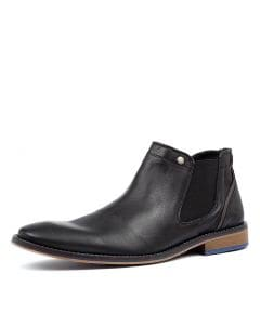 BOLTON WR BLACK LEATHER
