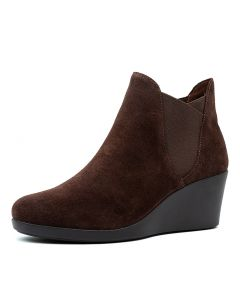 LEIGH WEDGE CHELSEA BOOT ESPRESSO SMOOTH