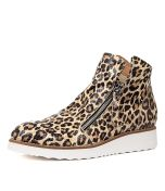 OHMY OCELOT WHITE SOLE LEATHER