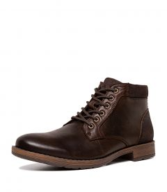 C LUCIO CF DARK BROWN LEATHER