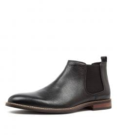LUCCA BLACK LEATHER