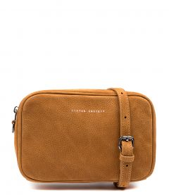 PLUNDER BAG TAN NUBUCK
