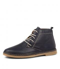 CORELL NAVY LEATHER