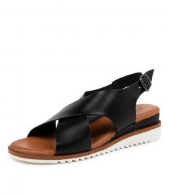 Lily Black Leather
