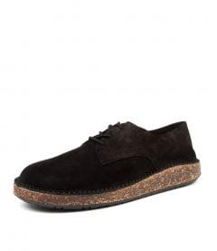 GARY BLACK SUEDE LEATHER