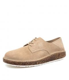 GARY SAND SUEDE LEATHER