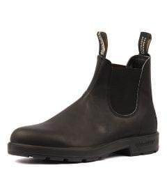 510 Mens Boot Black Leather