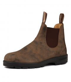 585 MENS BOOT RUSTIC BROWN LEATHER