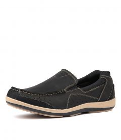 SAIL NAVY LEATHER