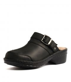 TALARA BLACK LEATHER