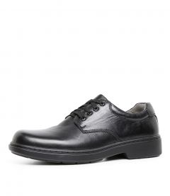 ACT SNR E BLK LEATHER
