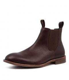 BRUMBY BROWN LEATHER