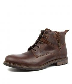 PATOS BROWN LEATHER