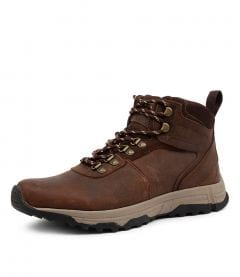 FIRE BROWN LEATHER