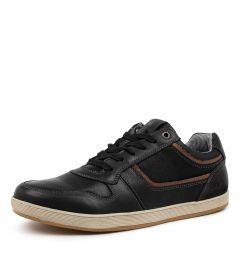 Eiko Black Leather