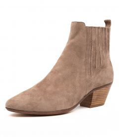 IMBERS TAUPE SUEDE
