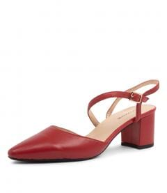 LANSA DF DEEP RED LEATHER