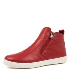 MARIUN DK RED LEATHER