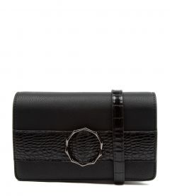 RINGWELL CLUTCH DF BLACK BLACK CROC SMOOTH