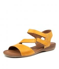 ALONZA DF YELLOW LEATHER